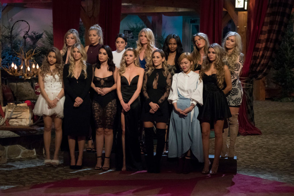 THE BACHELOR WINTER GAMES -  Is love the universal language? Find out as 14 international bachelors and bachelorettes from such countries as Switzerland, Japan and Australia compete and, hopefully, find love with 12 of Americas Bachelor Nation favorites. These singles will go head-to-head in winter-themed challenges, including the toughest sport of all - love. Chris Harrison hosts this highly anticipated, four-episode series, complete with the usual dose of tears, drama, romance and laughter, as The Bachelor Winter Games, a global celebration of unity and love, premieres on TUESDAY, FEB. 13 (8:00-10:01 p.m. EST), on The ABC Television Network. (Lorenzo Bevilaqua via Getty Images) YUKI KIMURA, JENNY HELENIUS, LESLEY MURPHY, TIFFANY SCANLON, ASHLEY IACONETTI, BIBIANA JULIAN, LAURA BLAIR, REBECCA CARLSON, CLARE CRAWLEY, LAUREN GRIFFIN, ZOE TANG, LILY MCMANUS, NASTASSIA YARAMCHUK, ALLY THOMPSON